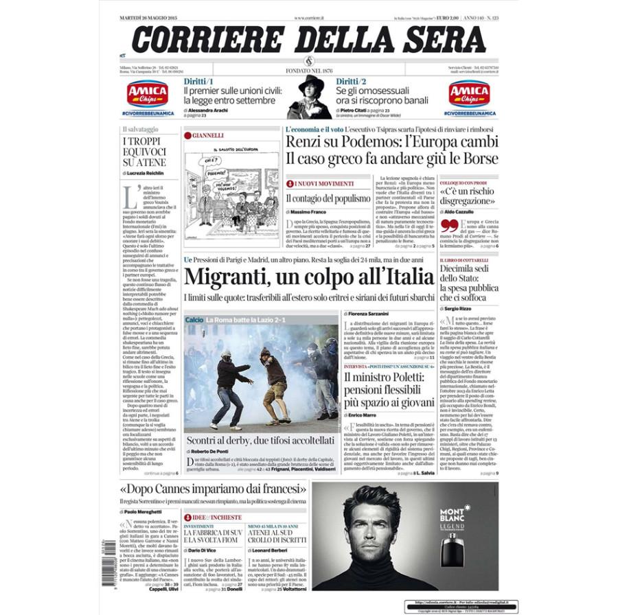 """""""Cucina Toscana di Buona Sostanza"""" in Corriere della Sera"""